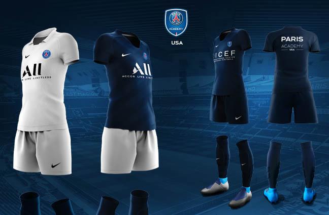 2020 2021 Uniform Kits Just Released Paris Saint Germain Academy Usa
